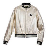 Image of Mickey The True Original Varsity Jacket for Women - Gold Collection # 1