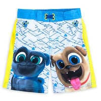 Image of Puppy Dog Pals Swim Trunks for Boys # 1