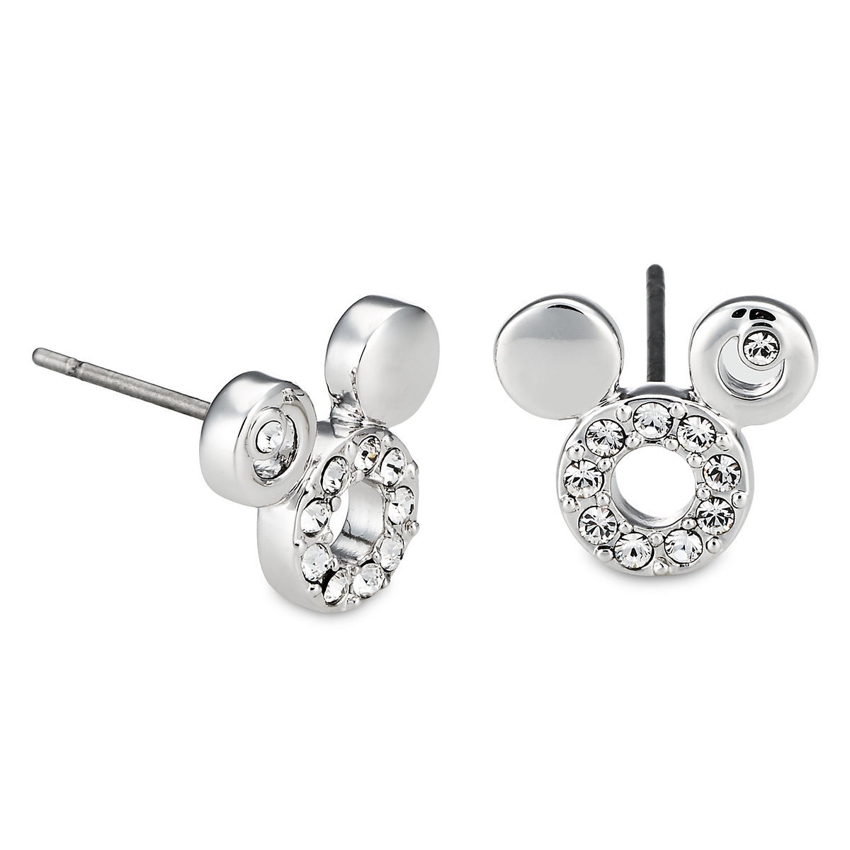 mickey mouse icon earrings by arribas shopdisney