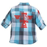 Image of Lightning McQueen and Jackson Storm Button Shirt for Boys # 2