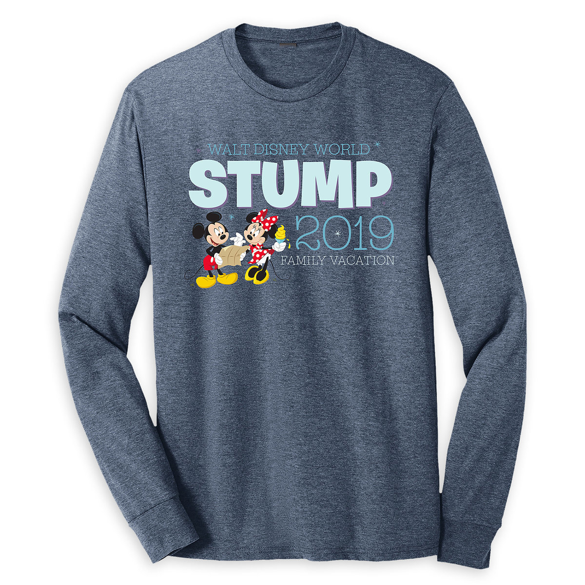 2d82abba ... Disney World 2019 - Customized. $39.99. Product Image of Mickey and  Minnie Mouse Family Vacation Long Sleeve Shirt for Adults - Walt