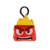 Image of Anger Emoji Plush Backpack Clip - Inside Out # 1