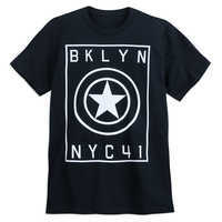 Image of Captain America ''BKLYN NYC41'' T-Shirt for Adults # 1