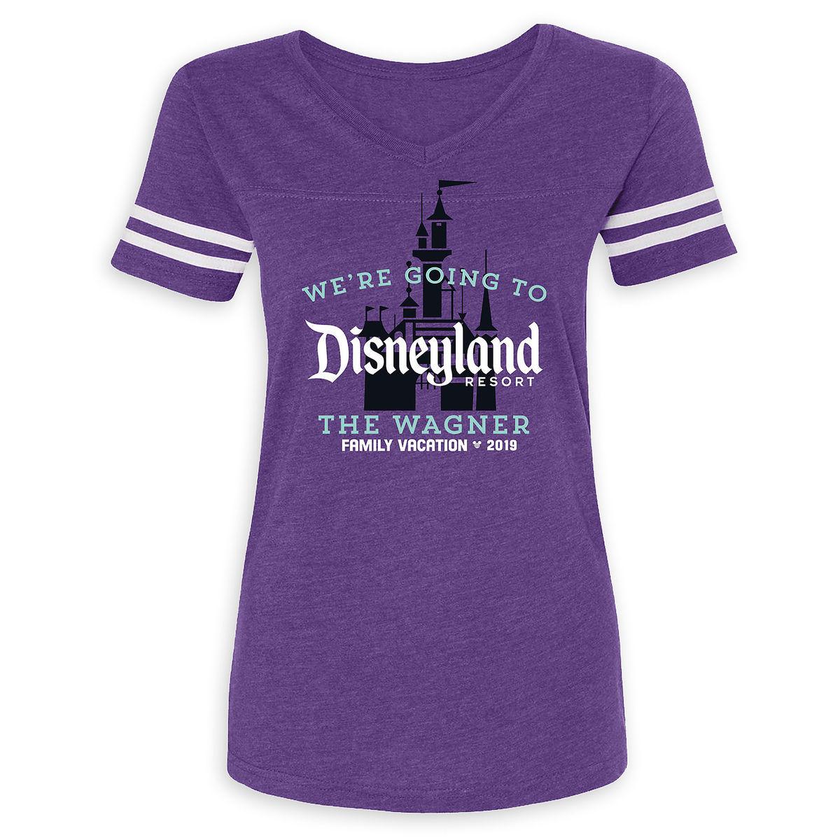 Thumbnail Image of Disneyland 2019 Family Vacation T-Shirt for Women - Customized # 1