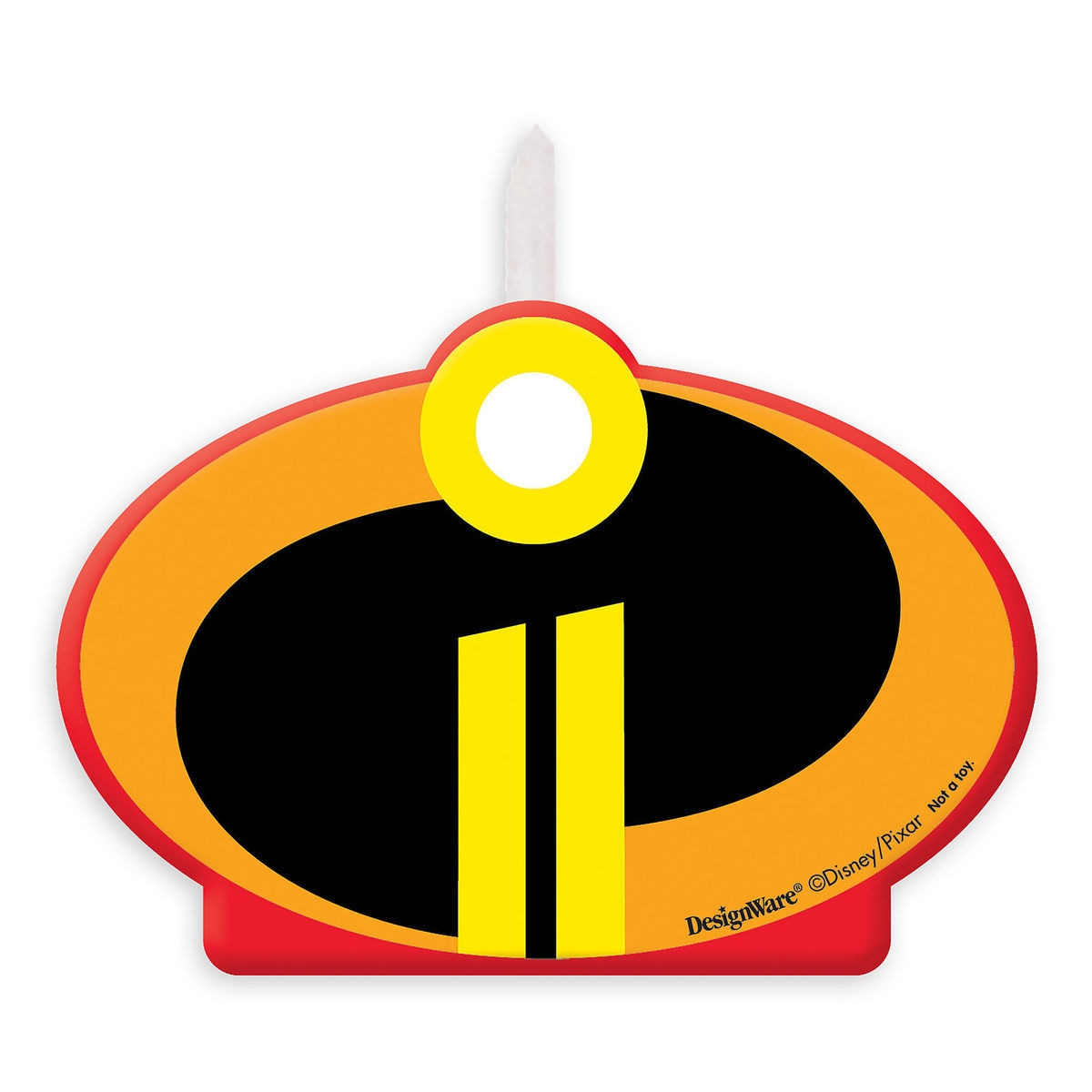 Product Image Of Incredibles 2 Birthday Candle 1