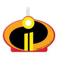 Image of Incredibles 2 Birthday Candle # 1