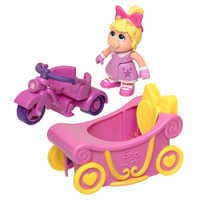 Image of Miss Piggy Trike & Carriage - Muppet Babies # 3
