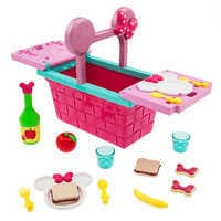 Image of Minnie Mouse Picnic Basket Play Set # 1