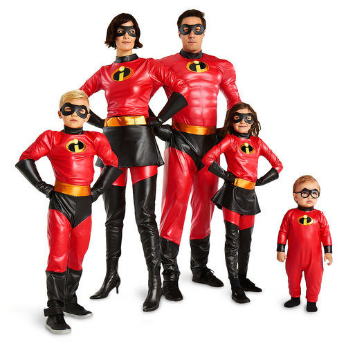 incredibles 2 family costume collection shopdisney
