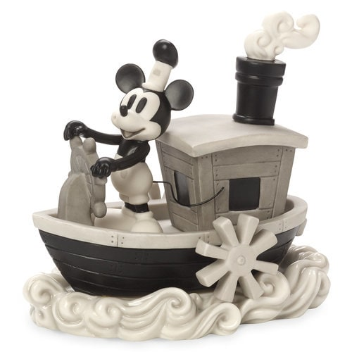 Mickey Mouse Steamboat Willie Figurine By Precious Moments