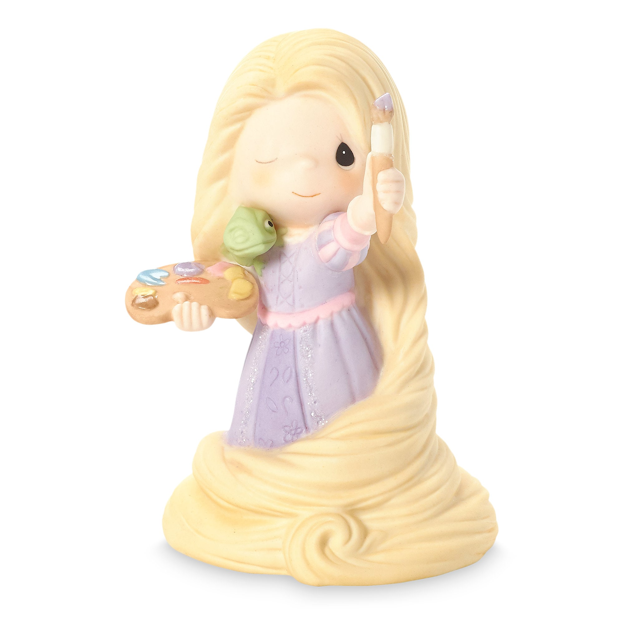 Rapunzel with Pascal Figure by Precious Moments