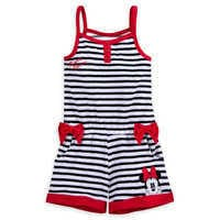Image of Minnie Mouse Romper Cover-Up for Girls # 1