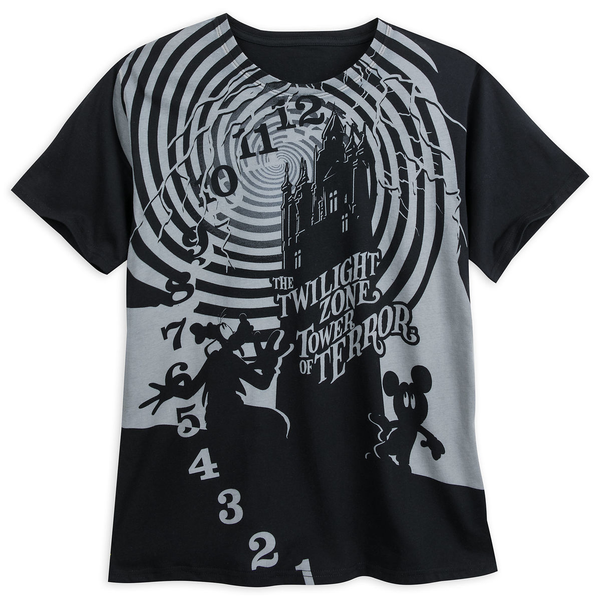 Product Image Of The Twilight Zone Tower Terror T Shirt For Adults