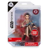 Image of Rey Action Figure - Star Wars Toybox # 4