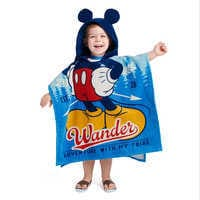 Image of Mickey Mouse Hooded Towel for Kids # 1