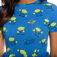 Image of Pizza Planet Dress for Women by Cakeworthy - Toy Story 4 # 4