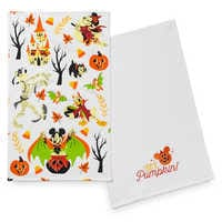 Image of Mickey Mouse and Friends Halloween Kitchen Towel Set # 2