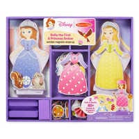 Image of Sofia the First & Princess Amber Wooden Magnetic Dress-Up Playset by Melissa & Doug # 2