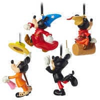 Image of Mickey Mouse Through the Years Mini Ornament Set 2 # 2