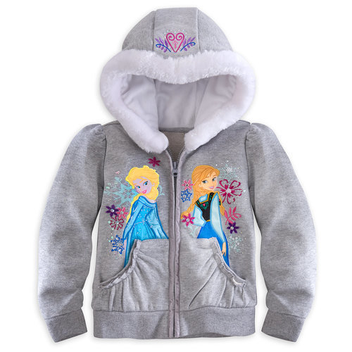 Anna and Elsa Hoodie for Girls ? Frozen