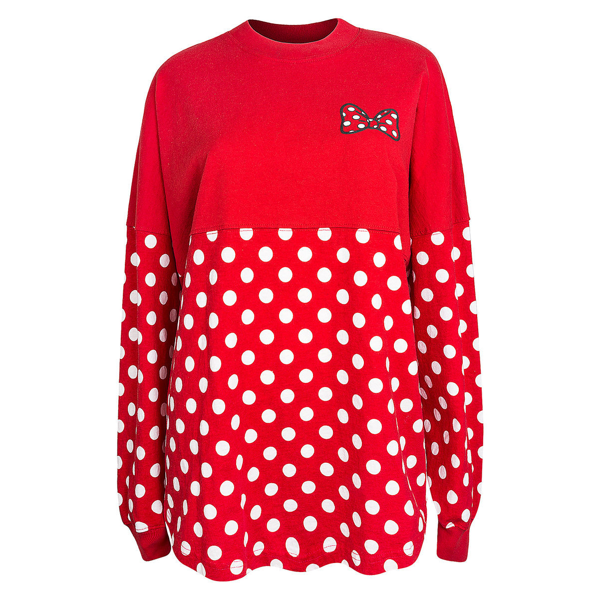 04d5da3c217 Product Image of Minnie Mouse Polka Dot Spirit Jersey for Adults - Walt  Disney World #