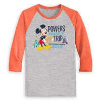 Image of Mickey Mouse Family Vacation Raglan Shirt for Men - Walt Disney World 2019 - Customized # 2