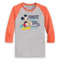 Image of Mickey Mouse Family Vacation Raglan Shirt for Men - Walt Disney World 2019 - Customized # 2