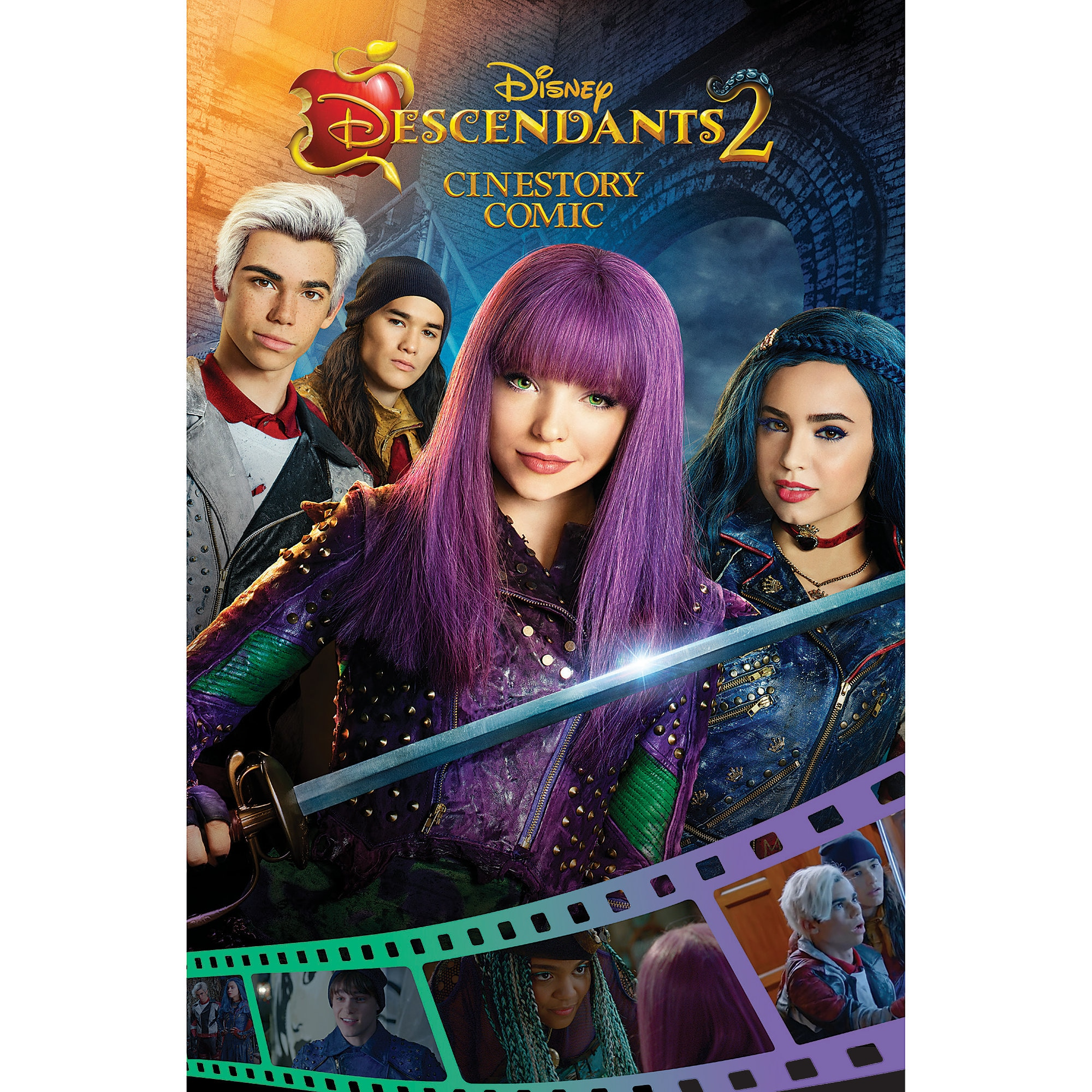 Descendants 2 Cinestory Comic