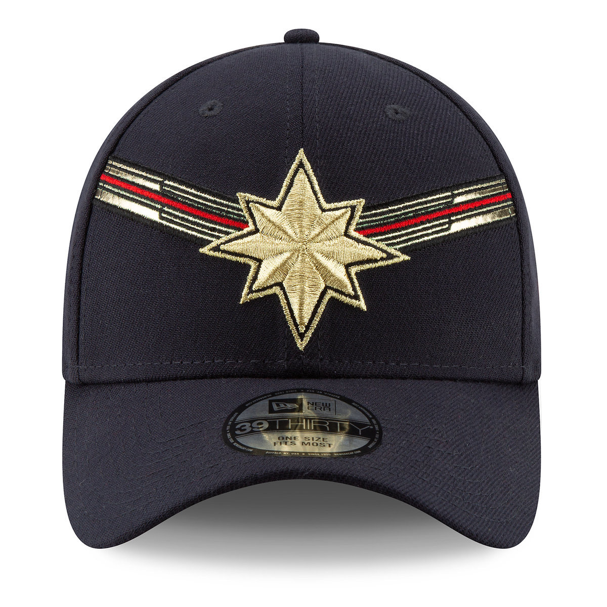 d6e960033c348 Product Image of Marvel s Captain Marvel Baseball Cap for Adults by New Era  - Marvel Studios