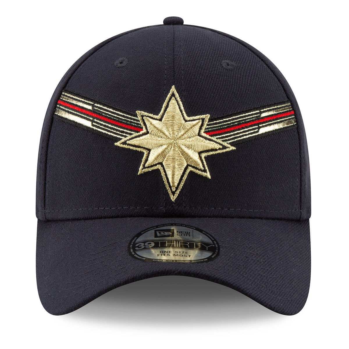 Product Image of Marvel s Captain Marvel Baseball Cap for Adults by New Era  - Marvel Studios 7ae444d8d6a