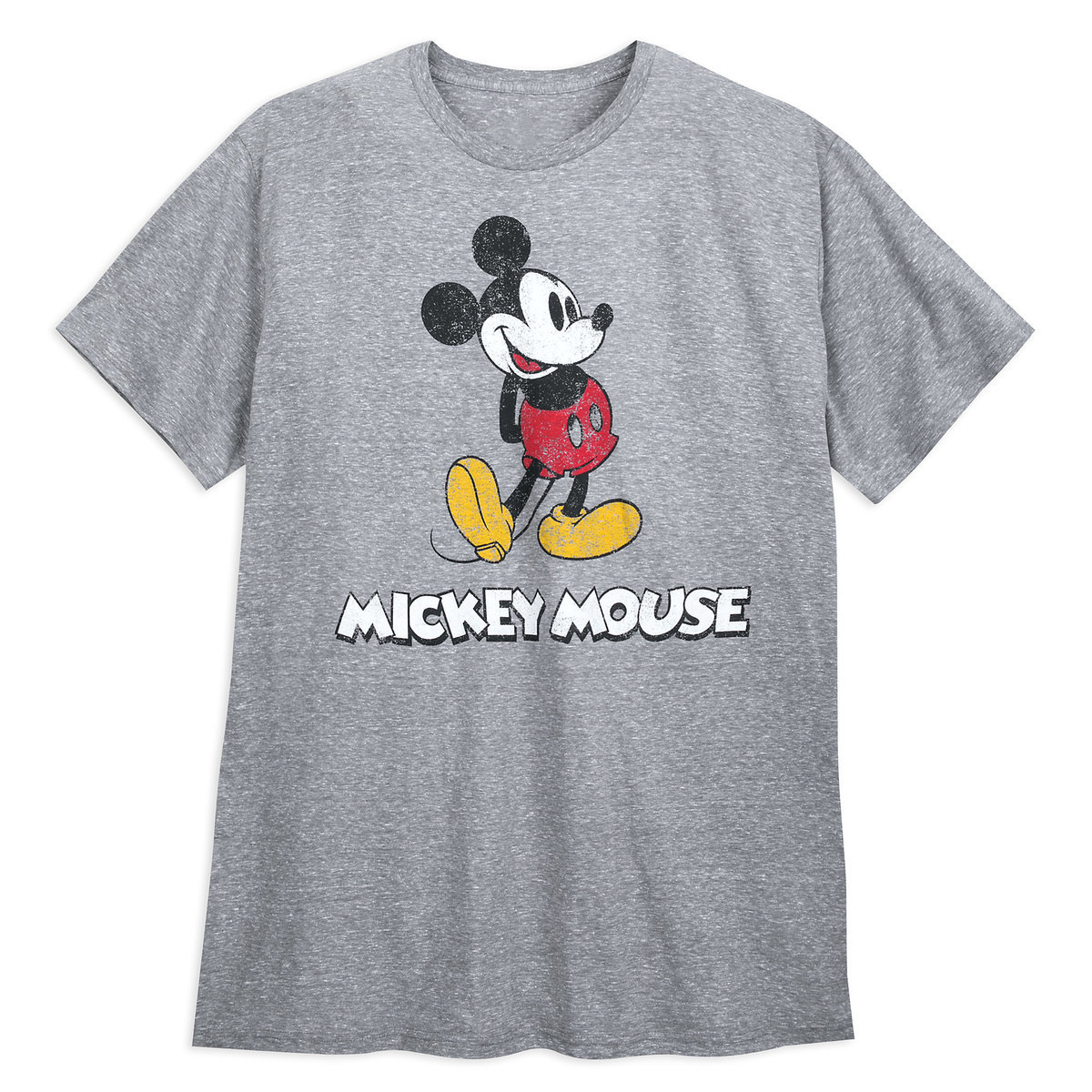 a605801e3 Product Image of Mickey Mouse Classic T-Shirt for Men - Gray - Extended Size