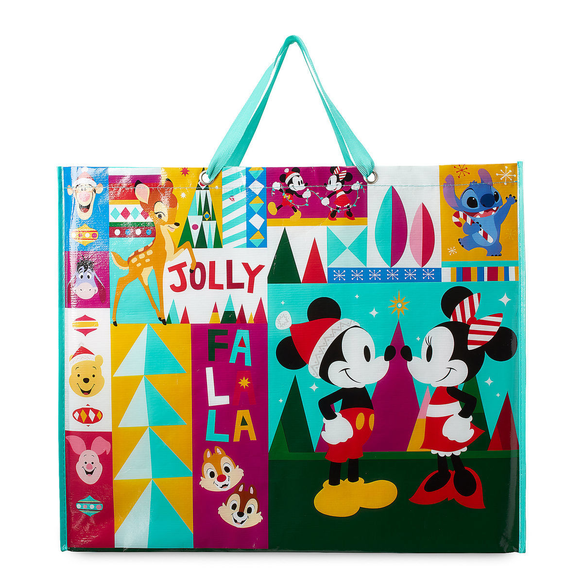 Product Image of World of Disney Holiday Reusable Tote # 1