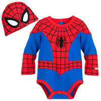 Image of Spider-Man Costume Bodysuit for Baby # 1