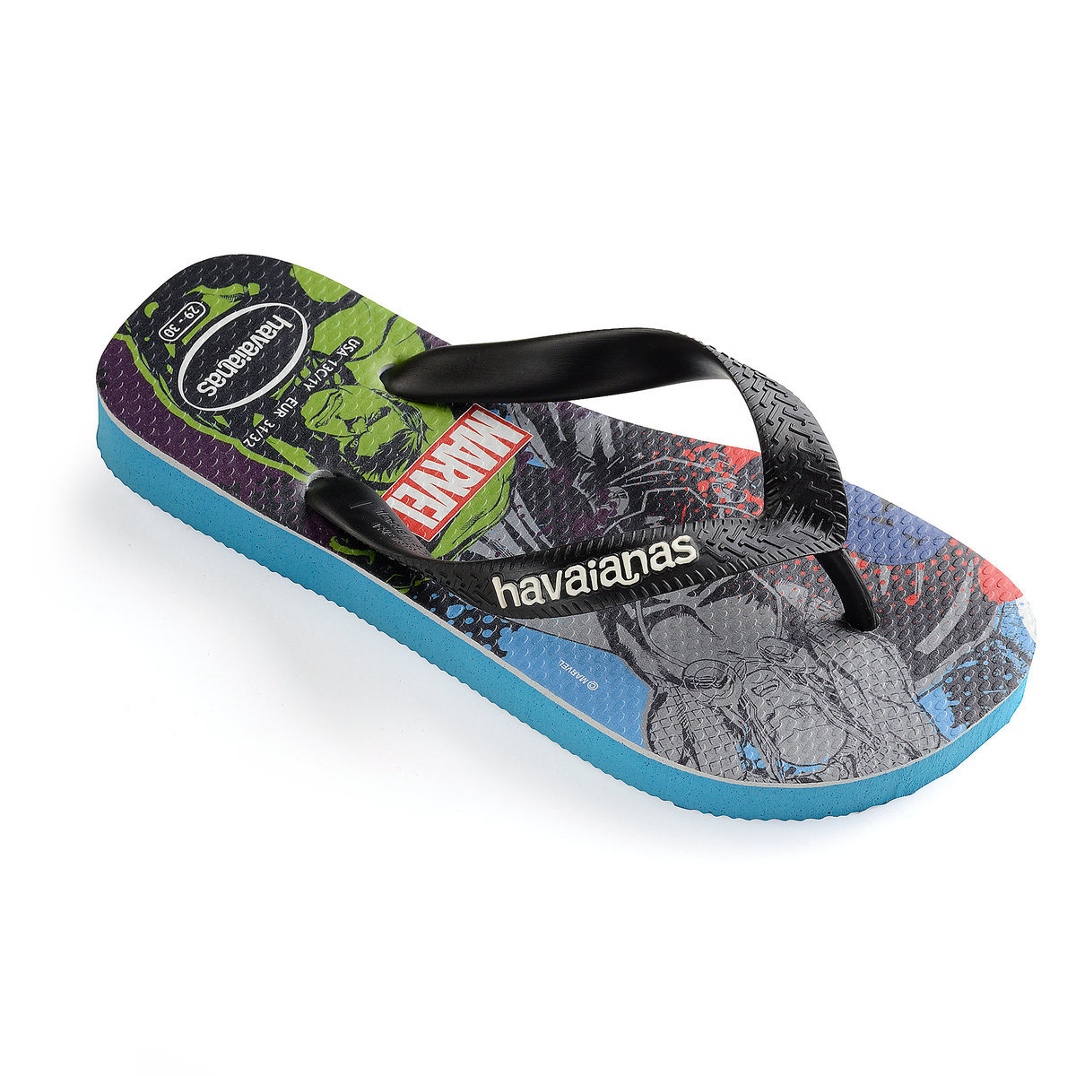 ed7806b45 Product Image of Avengers Flip Flops for Kids by Havaianas   1