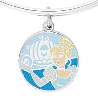 Image of Cinderella ''Have courage and be kind'' Bangle by Alex and Ani # 2
