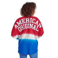 Image of Mickey Mouse Tie-Dye Americana Spirit Jersey for Adults # 2