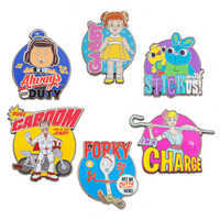 Image of Toy Story 4 Pin Set - Limited Release # 1