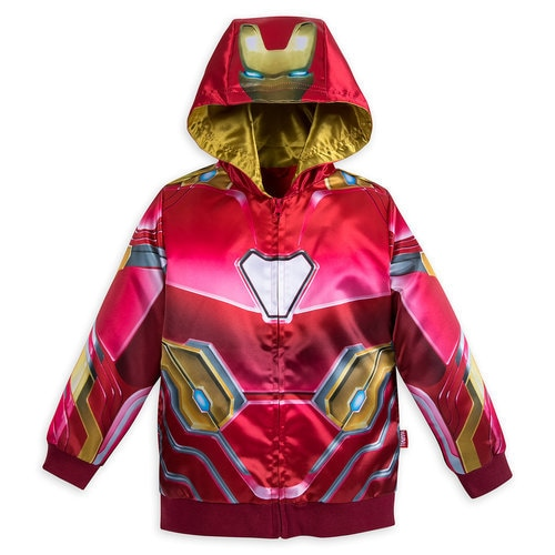 Iron Man Hooded Jacket For Kids Marvel S Avengers