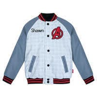 Image of Marvel's Avengers Varsity Jacket for Boys - Personalized # 1