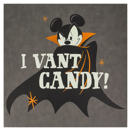 Mickey Mouse Halloween Vampire Wall Sign Shopdisney