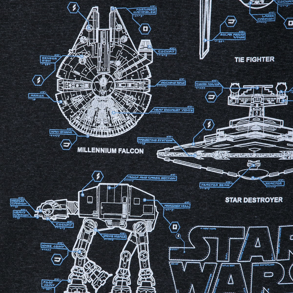 Beroemd Star Wars Blueprints Ringer T-Shirt for Boys | shopDisney @PP16