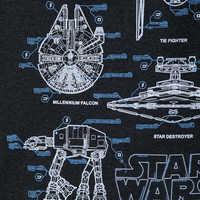 Image of Star Wars Blueprints Ringer T-Shirt for Boys # 2