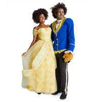 Image of Belle Prestige Costume for Adults by Disguise # 2
