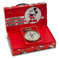 Image of Mickey Mouse Pocket Watch Replica for Adults by Ingersoll # 3