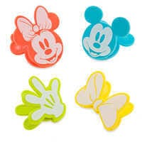 Image of Mickey and Minnie Mouse Bag Clips Set - Disney Eats # 1