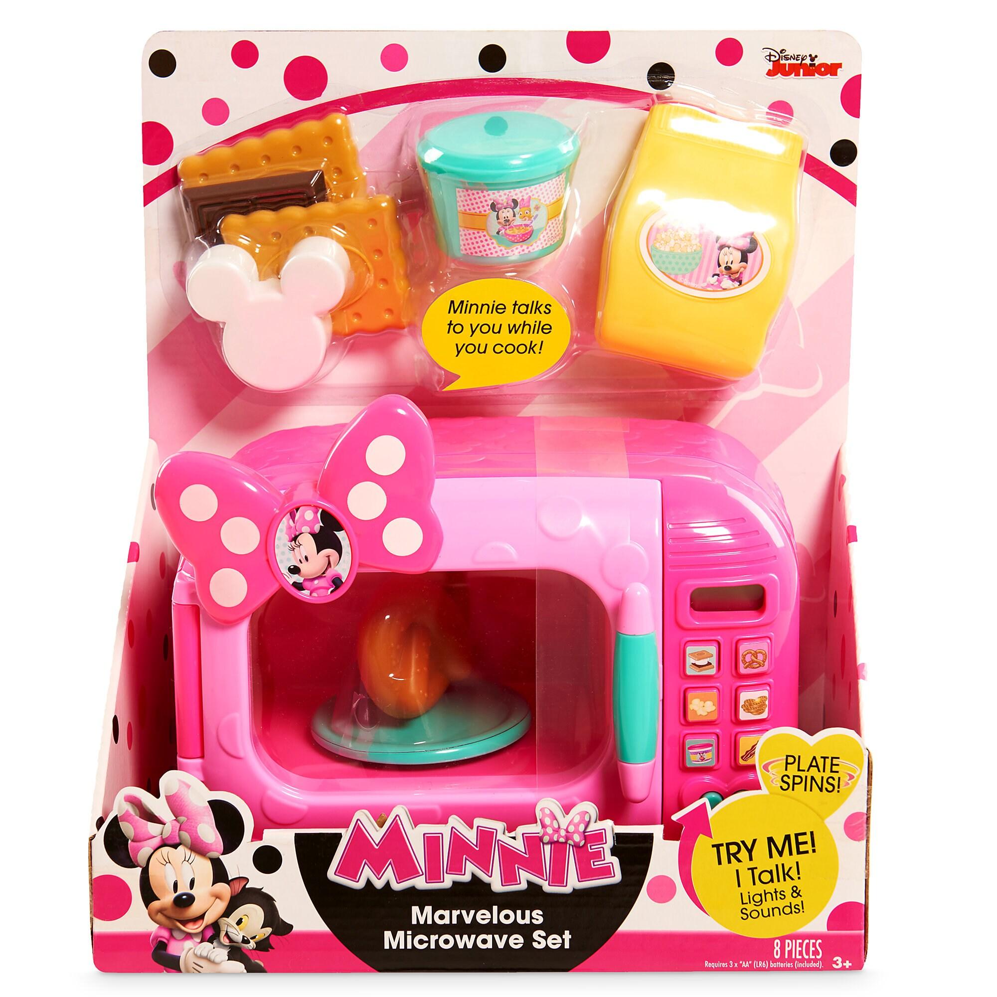 Minnie Mouse Marvelous Microwave Set  sc 1 st  shopDisney & Minnie Mouse Marvelous Microwave Set   shopDisney