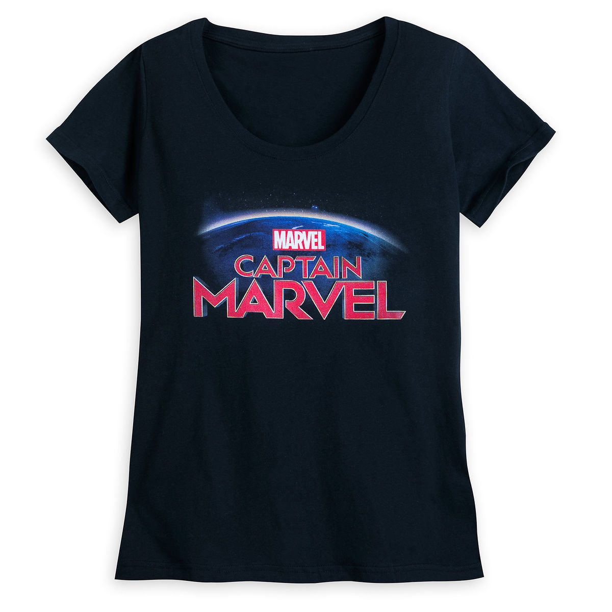 Product Image of Marvel s Captain Marvel T-Shirt for Women   1 283e0a203f