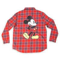 Image of Mickey Mouse Flannel Shirt for Adults by Cakeworthy # 1