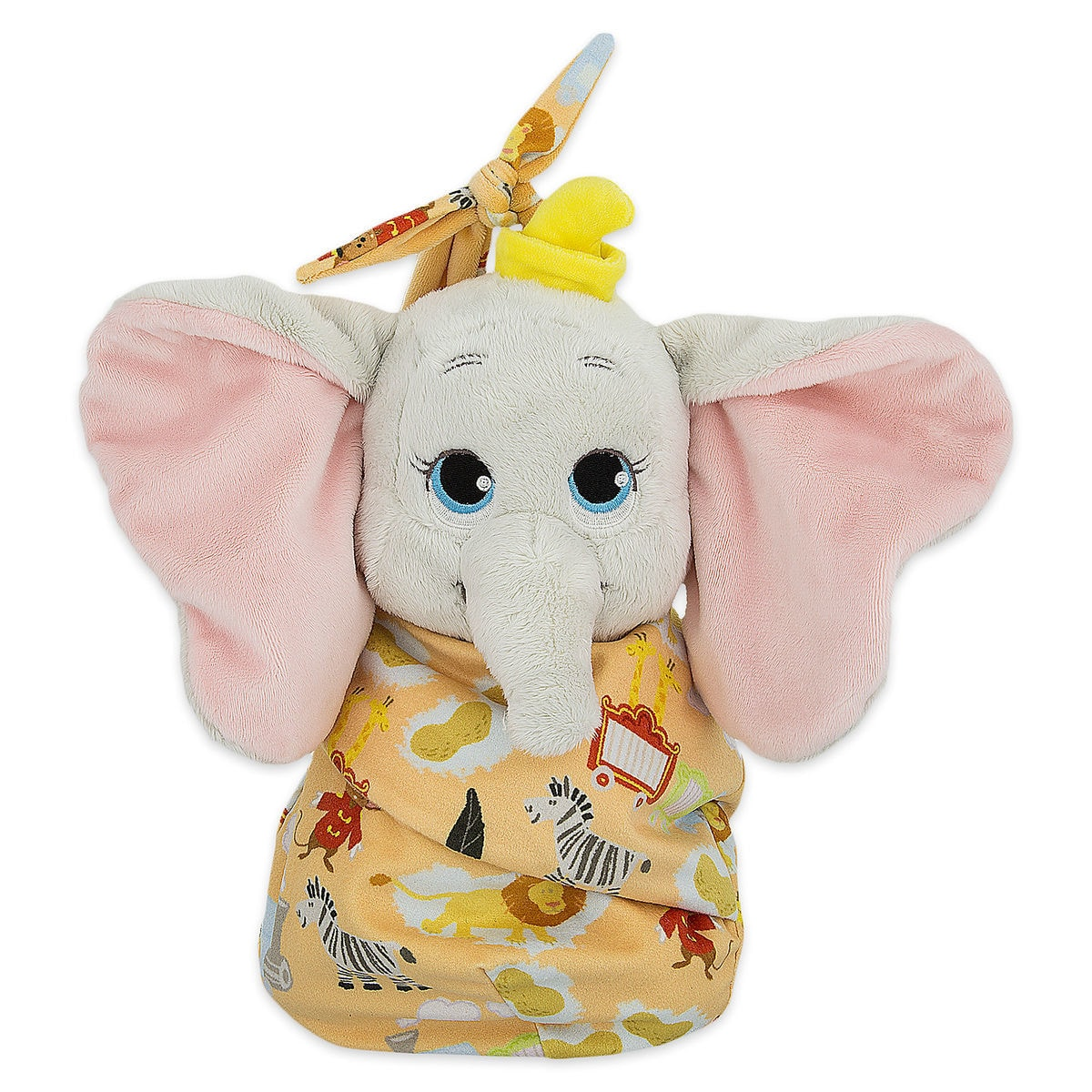 Product Image of Dumbo Plush with Blanket Pouch - Disney s Babies - Small    1 0dbee45b2