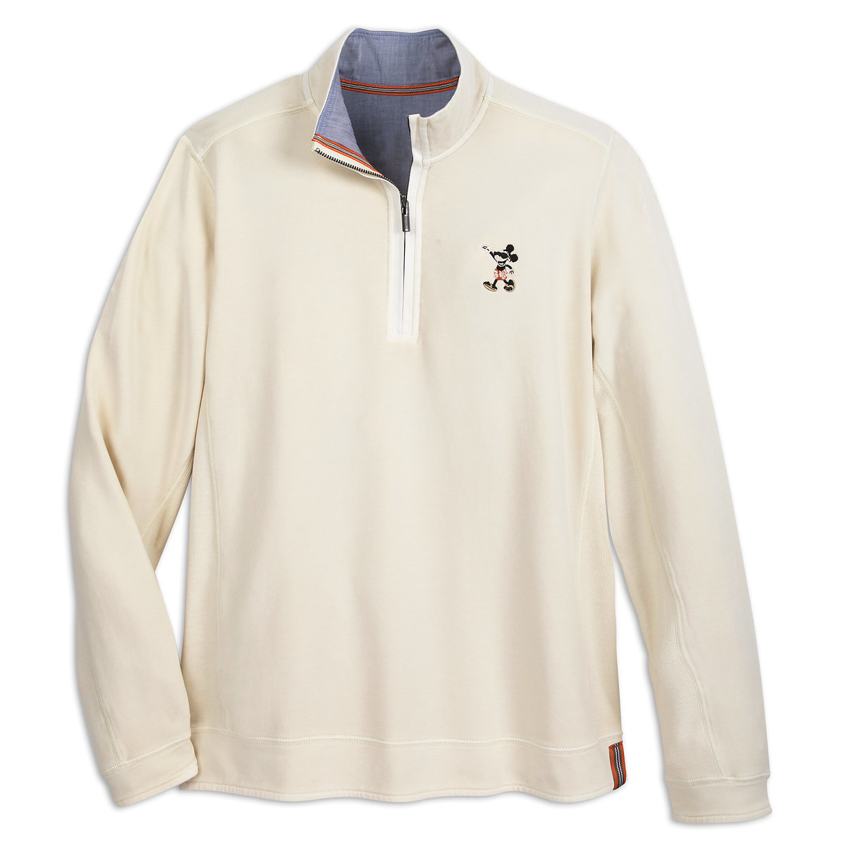 Mickey Mouse Fleece Pullover for Adults by Tommy Bahama - Cream ...